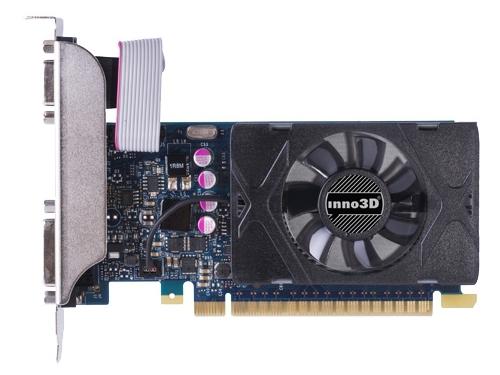 Видеокарта GeForce Inno3D GeForce GT 730 902Mhz PCI-E 2.0 1024Mb 5000Mhz 64 bit DVI HDMI HDCP, вид 2