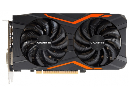 Видеокарта GeForce Gigabyte GeForce GTX 1050 Ti 1366Mhz PCI-E 3.0 4096Mb 7008Mhz 128 bit DVI 3xHDMI HDCP G1 Gaming, вид 2