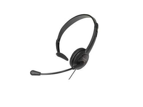Гарнитура для ПК Panasonic RP-TCA400E-K, черная, вид 1