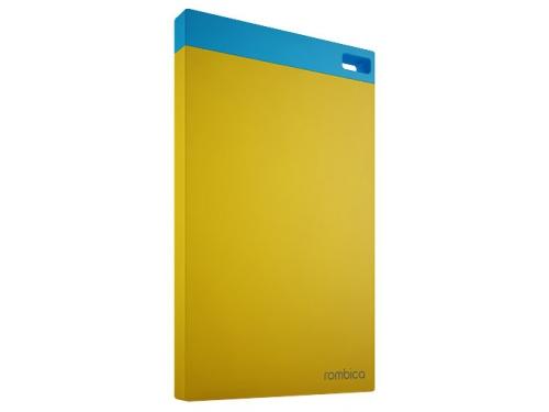 Аксессуар для телефона Внешний аккумулятор Rombica Neo NP60 6000 mAh, желтый, вид 1