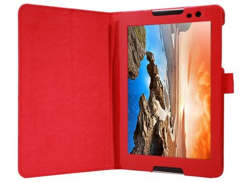 Чехол для планшета IT BAGGAGE для LENOVO Idea Tab A8-50 (A5500) 8'', искус.кожа, красный, вид 1