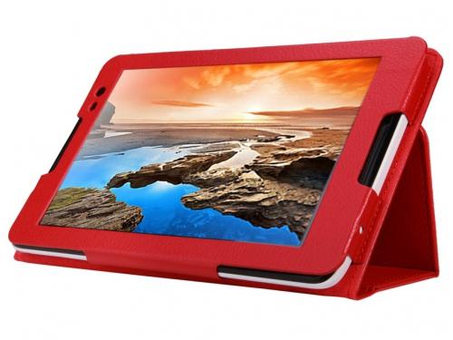 Чехол для планшета IT BAGGAGE для LENOVO Idea Tab A8-50 (A5500) 8'', искус.кожа, красный, вид 3