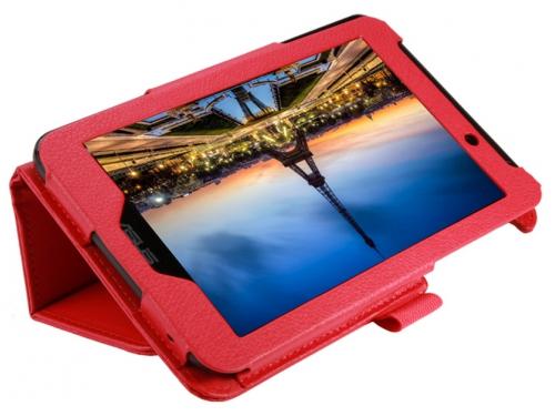 Чехол для планшета IT BAGGAGE для ASUS Fonepad 7 FE170CG/ME170С, искус.кожа, красный, вид 2