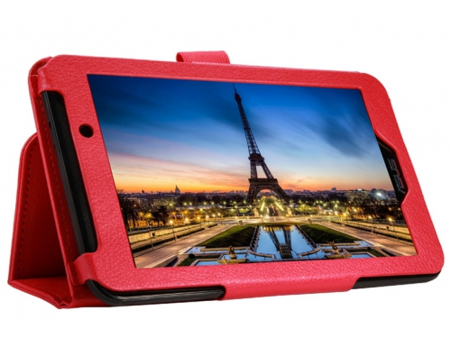 Чехол для планшета IT BAGGAGE для ASUS Fonepad 7 FE170CG/ME170С, искус.кожа, красный, вид 3