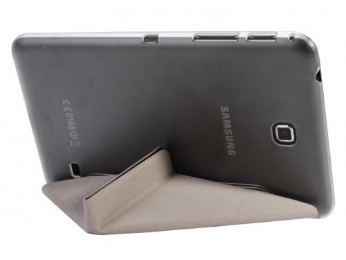 Чехол для планшета IT BAGGAGE для SAMSUNG Galaxy Tab4 8'', черный с прозрачной задней крышкой, вид 3