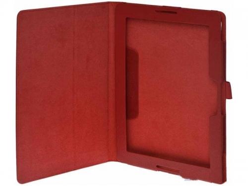Чехол для планшета IT Baggage ITLNA7602-4 для планшета Lenovo IdeaTab A7600 искус.кожа, тёмно-красный, вид 3