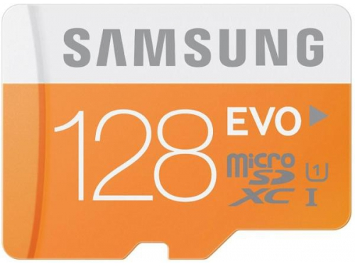 Карта памяти Samsung EVO MicroSDXC 128Gb class10 UHS-I (48MB/s), вид 2