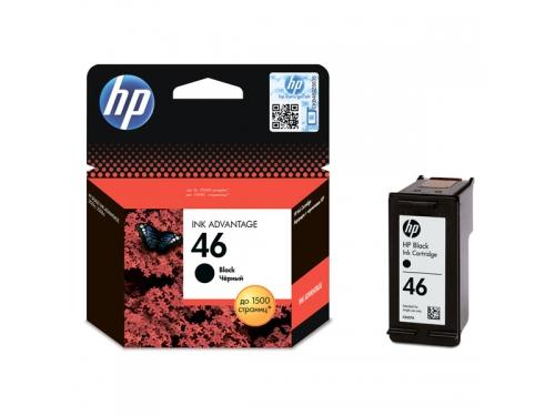 Картридж HP 46, струйный, черный, вид 1