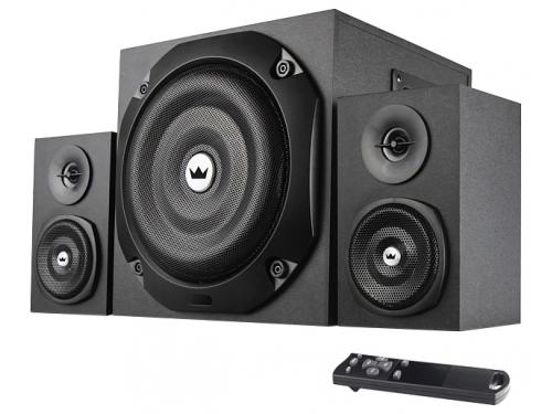 Компьютерная акустика Crown CMS-3801, черная, вид 1