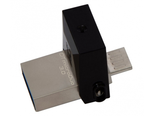 Usb-флешка Kingston 64Gb OTG, USB/microUSB, USB 3.0 (DTDUO3/64GB), вид 1