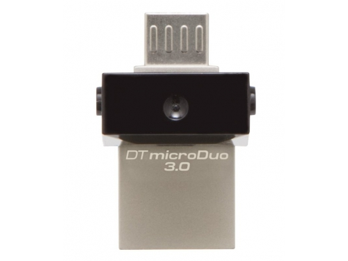 Usb-флешка Kingston 64Gb OTG, USB/microUSB, USB 3.0 (DTDUO3/64GB), вид 2