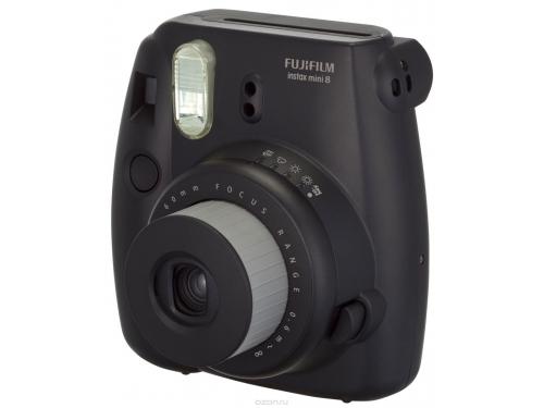 Фотоаппарат моментальной печати Fujifilm Instax Mini 8, чёрный, вид 2