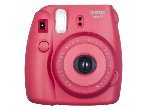 Фотоаппарат моментальной печати Fujifilm Instax Mini 8, малиновый, вид 1