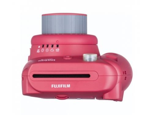 Фотоаппарат моментальной печати Fujifilm Instax Mini 8, малиновый, вид 5