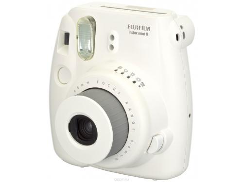 Фотоаппарат моментальной печати Fujifilm Instax Mini 8, белый, вид 5