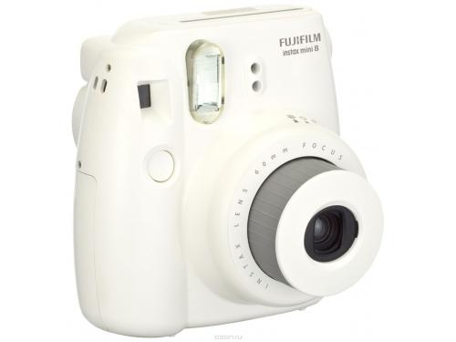 Фотоаппарат моментальной печати Fujifilm Instax Mini 8, белый, вид 3