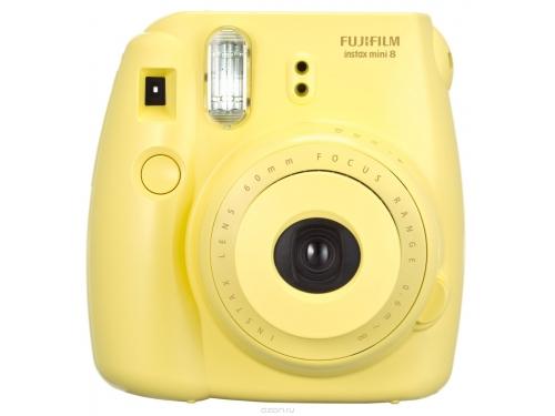 Фотоаппарат моментальной печати Fujifilm Instax Mini 8, жёлтый, вид 1