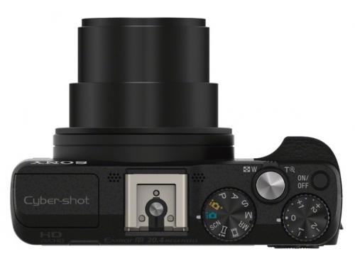 Цифровой фотоаппарат Sony CyberShot HX60 Black, вид 3