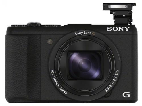 Цифровой фотоаппарат Sony CyberShot HX60 Black, вид 5