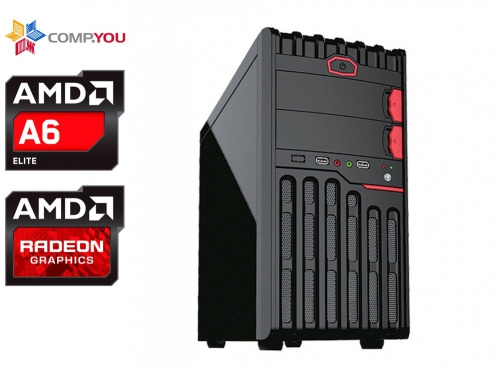 Системный блок CompYou Home PC H555 (CY.341022.H555), вид 1