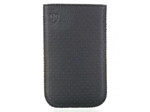 Чехол для смартфона Norton, универсальный с ремешком, размер w (65x121x11 мм), перфорированный, чёрный, вид 1