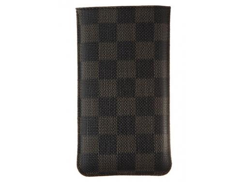 Чехол ipad Norton, универсальный с ремешком, размер x (68x132x9 мм), чёрный с коричневым, вид 1