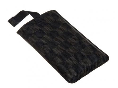 Чехол ipad Norton, универсальный с ремешком, размер x (68x132x9 мм), чёрный с коричневым, вид 3