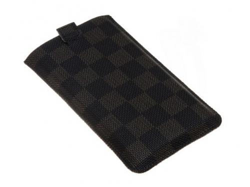 Чехол ipad Norton, универсальный с ремешком, размер x (68x132x9 мм), чёрный с коричневым, вид 2
