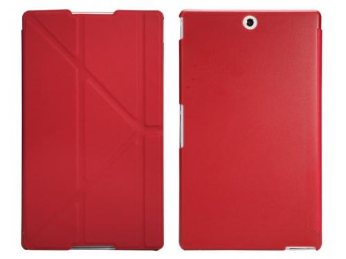 Чехол для планшета IT Baggage для Sony Xperia Tablet Z3 8'', иск.кожа, пластик, красный, вид 1