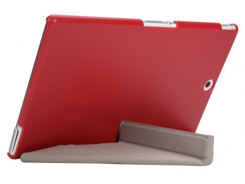 Чехол для планшета IT Baggage для Sony Xperia Tablet Z3 8'', иск.кожа, пластик, красный, вид 3