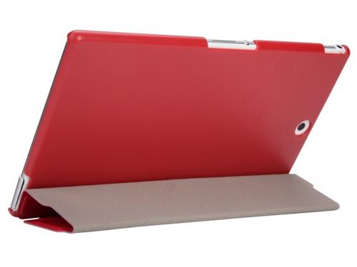 Чехол для планшета IT Baggage для Sony Xperia Tablet Z3 8'', иск.кожа, пластик, красный, вид 4