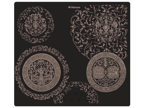 Варочная поверхность HansaBHC63503, чёрная , вид 1