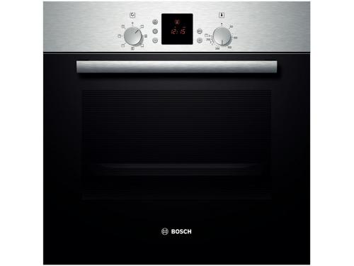 Духовой шкаф Bosch HBN431E3, черный, вид 1