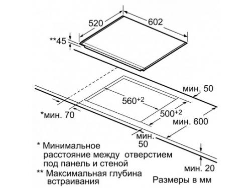 Варочная поверхность Siemens ET675MD11D, вид 2
