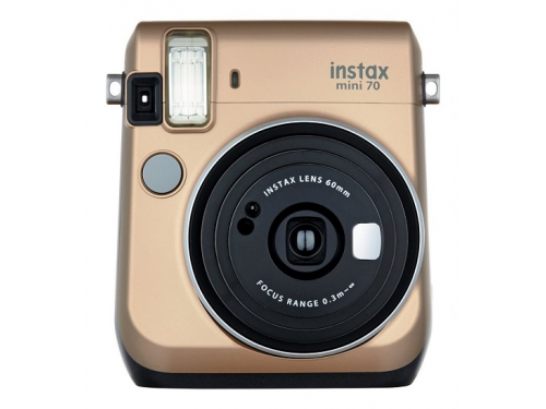 Фотоаппарат моментальной печати Fujifilm Instax Mini 70, золотистый, вид 2