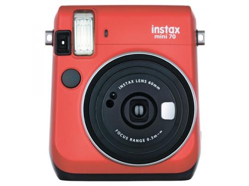 Фотоаппарат моментальной печати Fujifilm Instax Mini 70, красный, вид 2