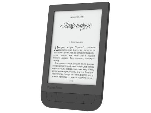 Электронная книга PocketBook 631 Touch HD, черная, вид 1