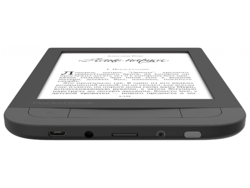 Электронная книга PocketBook 631 Touch HD, черная, вид 3