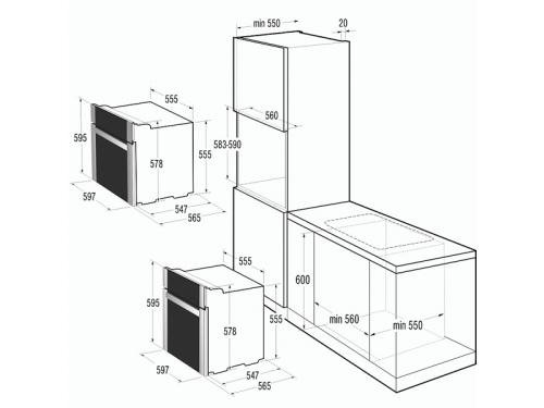 Духовой шкаф Gorenje BO 637E21 XG, вид 2