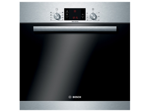Духовой шкаф Bosch HBA23S150R, серебристый, вид 1