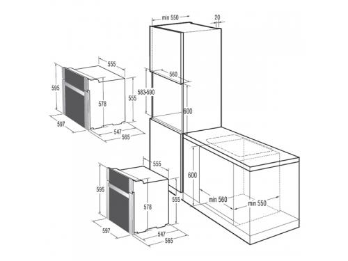 Духовой шкаф Gorenje Classico BO731CLB, вид 3