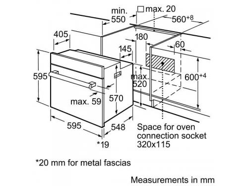 Духовой шкаф Bosch HBN231S4, вид 2