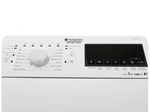 Стиральная машина Hotpoint-Ariston WMTG 722 H C CIS, с вертикальной загрузкой, вид 5