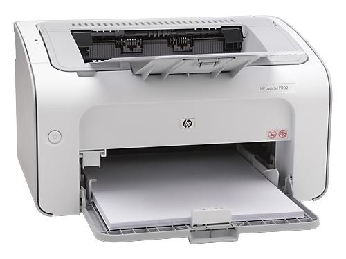 Лазерный ч/б принтер HP LaserJet Pro P1102 CE651A#ACB, вид 2