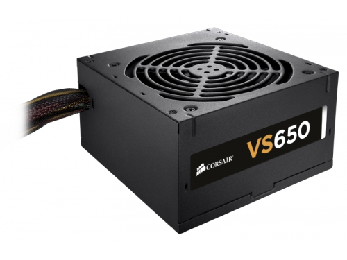 Блок питания Corsair VS650 650W (ATX12V 2.3 / EPS12V, CP-9020098-EU), вид 1