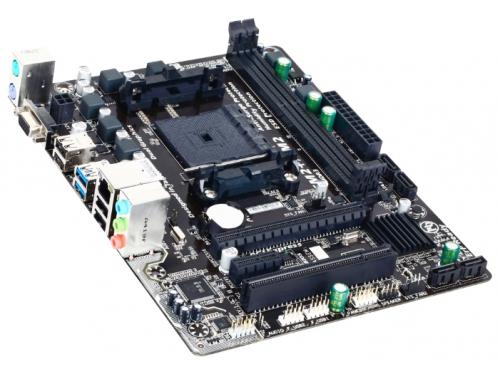 Материнская плата Gigabyte GA-F2A68HM-S1 mATX socFM2+ A68H 2xDDR3 SATA VGA, вид 1