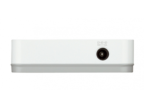 Коммутатор (switch) D-Link DGS-1008A/C1B 8 x 10/100/1000 Mbps Ethernet ports, вид 2