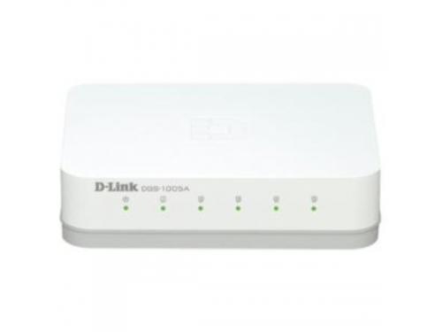 Коммутатор (switch) D-Link DGS-1005A/C1, вид 1