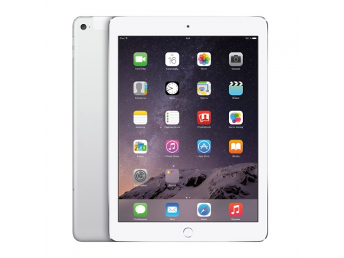 ������� Apple iPad Air 2 64�� Wi-Fi+Cellular Silver MGHY2RU/A, ��� 1
