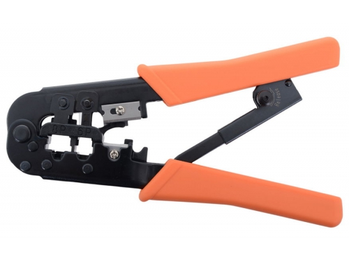Монтажный инструмент Hanlong HT-568R (RJ-45, RJ-11, RJ-12), 6P/8P, с фиксатором, вид 2